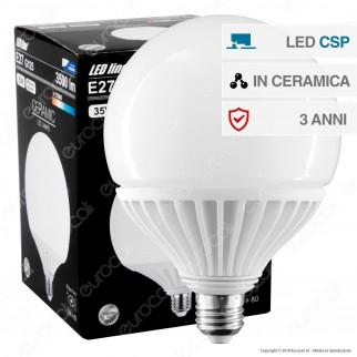 LED Line Lampadina LED E27 35W Globo G125 Ceramic CSP Chip