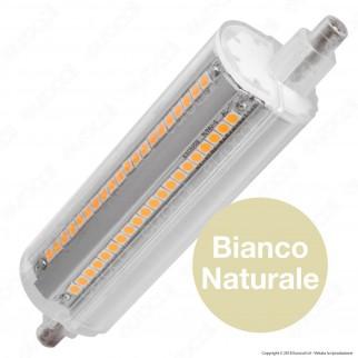 Marino Cristal Serie PRO Lampadina LED R7s L118 14W Bulb Tubolare Dimmerabile