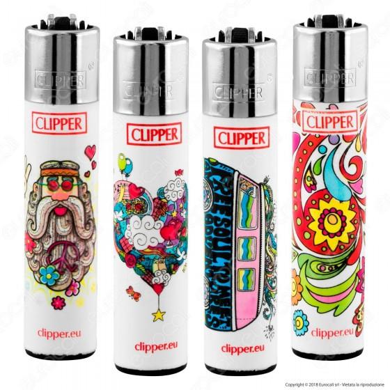 Clipper Large Fantasia Hippie 14 - 4 Accendini