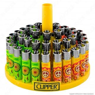 Clipper Large Fantasia Hippie 13 - Box da 48 Accendini