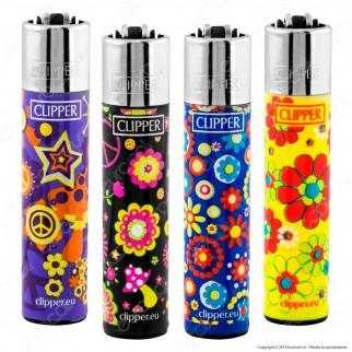 Clipper Large Fantasia Hippie 12 - 4 Accendini