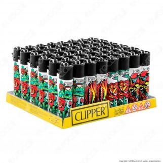 Clipper Large Fantasia Hard Tattoo - Box da 48 Accendini