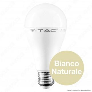 V-Tac PRO VT-295 Lampadina LED E27 12W Bulb A66 Chip Samsung - SKU 249 / 250 / 251