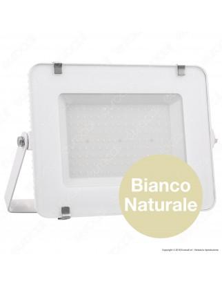 V-Tac PRO VT-150 Faro LED SMD 150W Ultrasottile Chip Samsung da Esterno Colore Bianco - SKU 478 / 479 / 480
