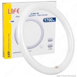 Life Circolina LED T9 G10q 19W Lampadina Diametro 30cm - mod. 39.940302N