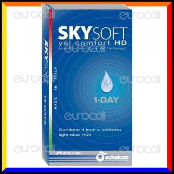 Schalcon Sky Soft 1 Day HD Yal Comfort - 16 Lenti a Contatto Giornaliere