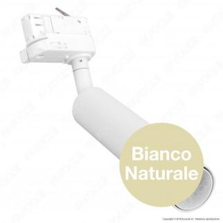 V-Tac PRO VT-407 Track Light LED COB 7W Colore Bianco Chip Samsung - SKU 350 / 351 / 352