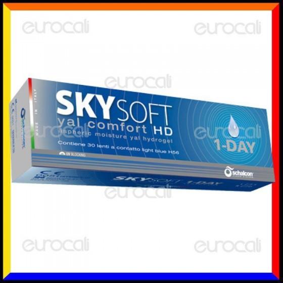 Schalcon Sky Soft 1 Day HD Yal Comfort - 30 Lenti a Contatto Giornaliere [TERMINATO]