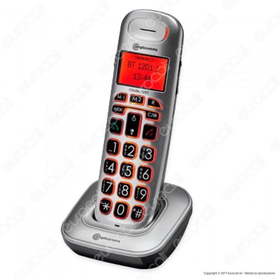 Amplicomms BigTel 1201 Componente Mobile Aggiuntivo per Telefoni per Portatori di Apparecchi Acustici