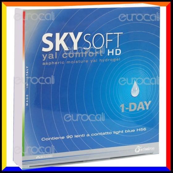 Schalcon Sky Soft 1 Day HD Yal Comfort - 90 Lenti a Contatto Giornaliere [TERMINATO]
