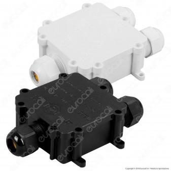V-Tac VT-870 Scatola di Derivazione con 3 Terminali - SKU 5980 / 5981