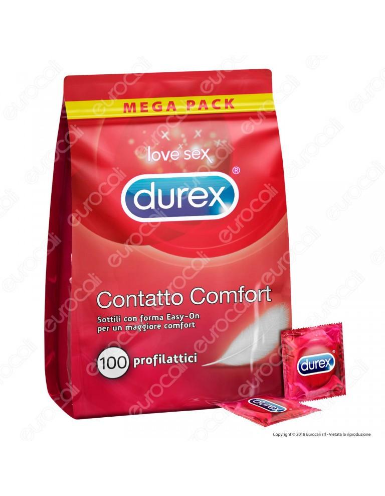 Preservativi Durex Contatto Comfort - BIg Pack 100 pezzi