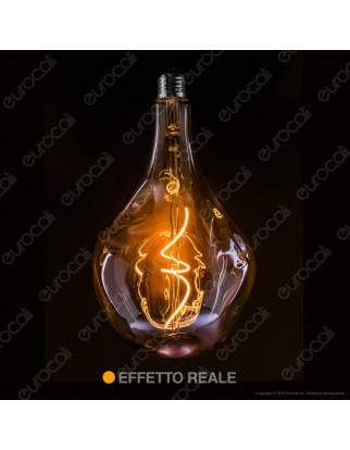Daylight Lampadina LED COB E27 5W Bulb A165 Effetto Erosione Naturale Dimmerabile