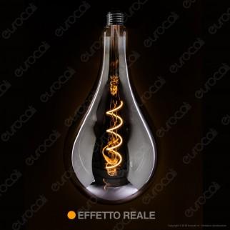 Daylight Lampadina LED COB E27 5W Bulb A165 con Vetro Oscurato Dimmerabile