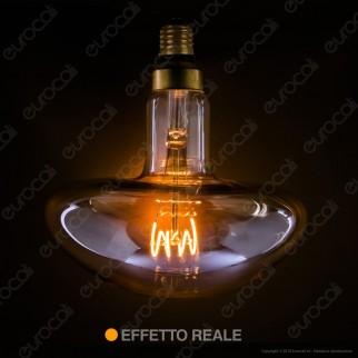 Daylight Lampadina LED COB E27 5W Forma Fungo con Vetro Ambrato Dimmerabile