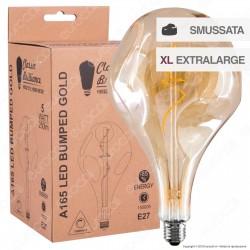 Daylight Lampadina E27 Filamento LED a Spirale 5W Bulb A165 Effetto Erosione Naturale Dimmerabile - mod. 700211.00A