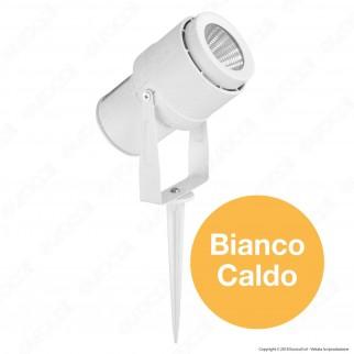 V-Tac VT-857 Faretto LED COB da Giardino 12W con Picchetto Colore Bianco - SKU 7547 / 7548 / 7549