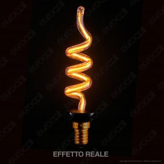 Segula Lampadina E14 Filamento LED Modellato 8W Candela Dimmerabile mod. 50139