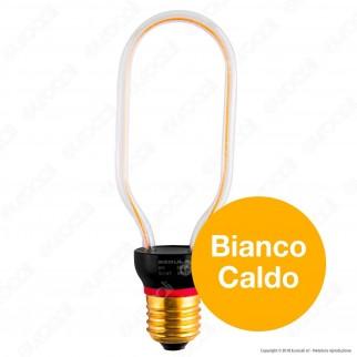 Segula Art Line Lampadina E27 Filamento LED Modellato 8W Forma Tubolare Dimmerabile mod. 50147