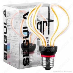 Segula Art Line Lampadina E27 Filamento LED Modellato 12W Forma Globo Dimmerabile mod. 50154