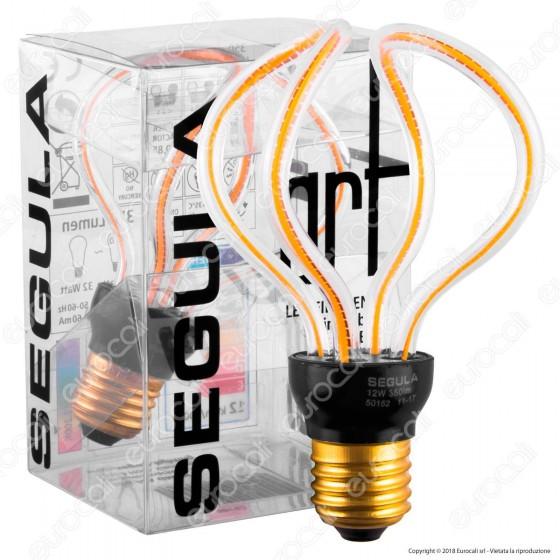 Segula Art Line Lampadina E27 Filamento LED Modellato 12W Forma Globo Dimmerabile mod. 50152