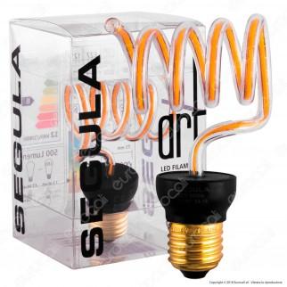 Segula Art Line Lampadina E27 Filamento LED Modellato 12W Forma Filamento Dimmerabile mod. 50157