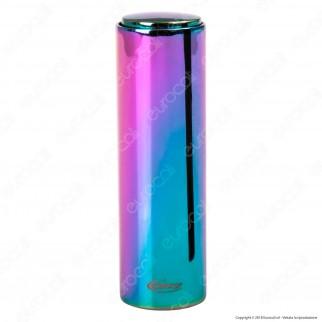 Cozy Lipstick Accendino USB in Metallo Antivento Ricaricabile con Doppio Arco al Plasma - 1 Accendino