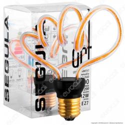 Segula Art Line Lampadina E27 Filamento LED Modellato 12W Forma Nuvola Dimmerabile mod. 50159