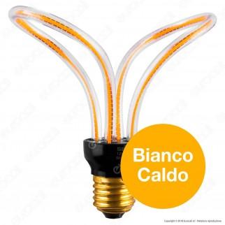 Segula Art Line Lampadina E27 Filamento LED Modellato 12W Forma Farfalla Dimmerabile mod. 50151