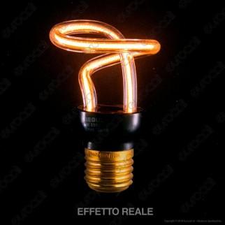 Segula Art Line Lampadina E27 Filamento LED Modellato 8W Forma Nodo Dimmerabile mod. 50149