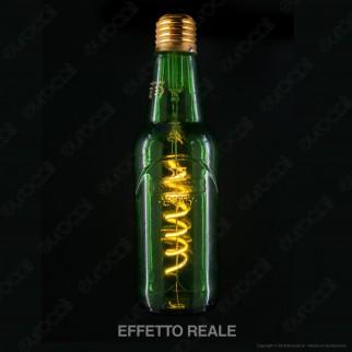 Segula Design Line Lampadina E27 Filamento LED Modellato 8W Forma Bottiglia Dimmerabile mod. 50127
