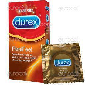 Preservativi Durex Real Feel - Scatola 6 pezzi