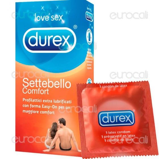 Preservativi Durex Settebello Comfort - Scatola 6 / 12 pezzi
