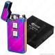 Cozy Accendino USB Hybrid in Metallo Antivento Ricaricabile con Doppio Arco al Plasma e Resistenza - 1 Accendino [TERMINATO]