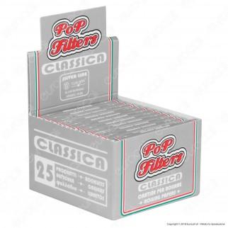 Cartine Pop Filters Corte Italia Silver Line - Scatola da 25 Libretti