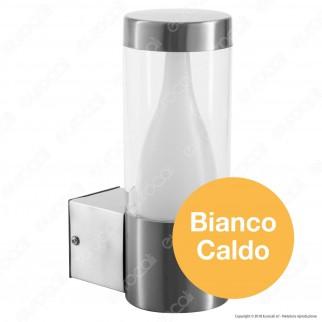 Lutec Virgo Lampada LED da Giardino con Fissaggio a Muro 3,7W - mod. 5008101001