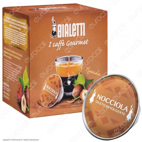 12 Capsule Caffè Bialetti Gourmet Gusto Nocciola Cialde Originali Bialetti