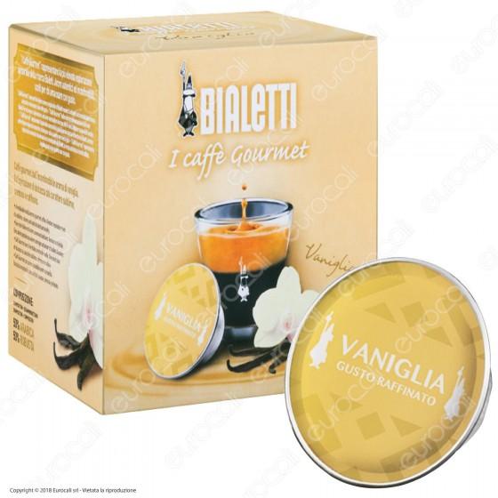 12 Capsule Caffè Bialetti Gourmet Aroma Vaniglia Cialde Originali Bialetti