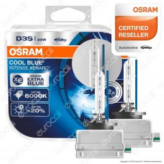 Osram Cool Blue Intense Xenarc Fari Xeno - 2 Lampadine D2S