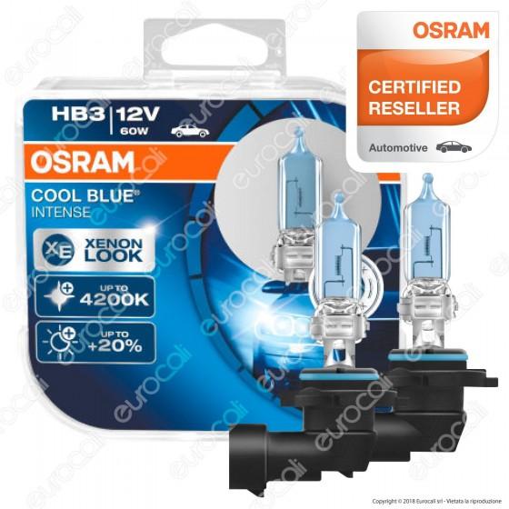 Osram Cool Blue Intense Effetto Xenon - 2 Lampadine HB3