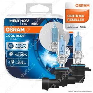 Osram Cool Blue Intense Effetto Xenon 60W - 2 Lampadine HB3