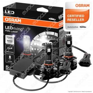Osram LEDriving Fog Lamp Fari LED Antinebbia - 2 Lampadine H10