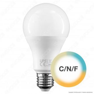 Life Lampadina LED Smart Life E27 10W Bulb A70 Tricolor Dimmerabile