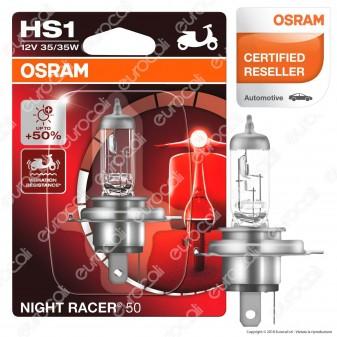 Osram Night Racer 50 Lampada per Moto 35W - Lampadina HS1