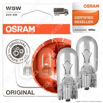 Osram Original Line per Camion 5W - Lampadina W5W