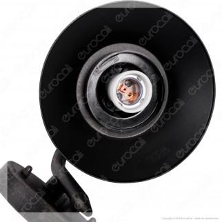 Lutec Cate Portalampada da Giardino con Fissaggio a Muro per lampadine E27 - mod. 5264201213