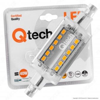 Qtech Lampadina LED R7s 5W L78 Bulb Tubolare - mod. 90040014 / 90040015
