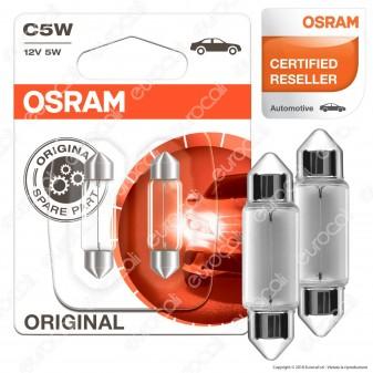 Osram Original Line 5W - 2 Lampadina C5W