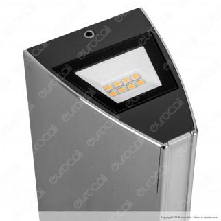 Lutec Leo Lampada LED Wall Light con Fissaggio a Muro 14W - mod. 5192701118