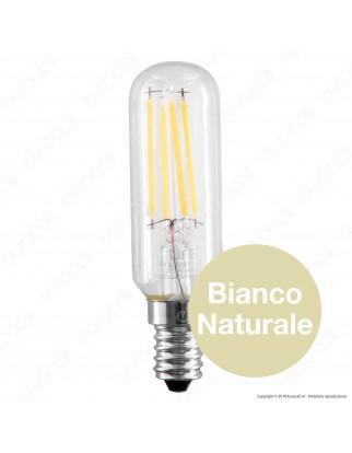 Life Lampadina LED E14 4W Tubolare T25 Filamento - mod. 39.934240
